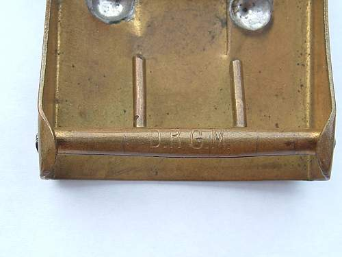 Click image for larger version.  Name:Brass Model M95 Prussian WW1 DRGM.jpg Views:82 Size:81.4 KB ID:426428