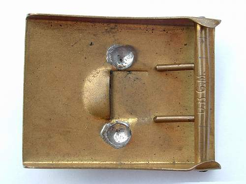 Click image for larger version.  Name:Brass Model M95 Prussian WW1 Rear.jpg Views:76 Size:105.6 KB ID:426430