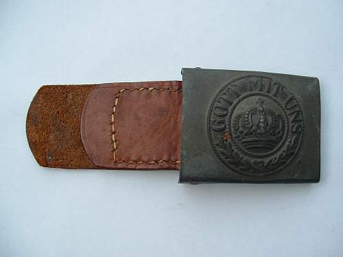 Click image for larger version.  Name:Late war Prussian Buckle.jpg Views:61 Size:78.7 KB ID:429011