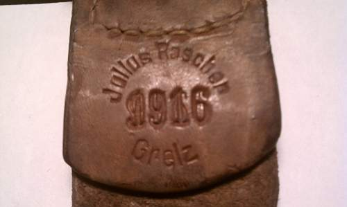 Imperial Buckle w/dated tab