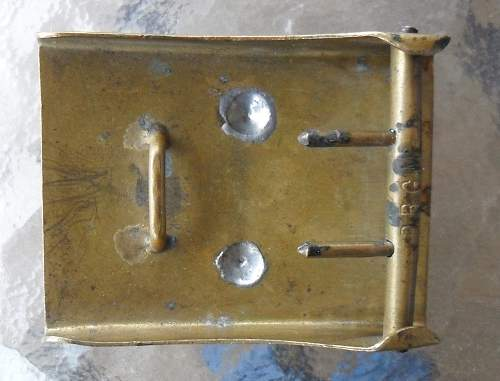 WW1 Imperial German enlisted mans belt and buckle