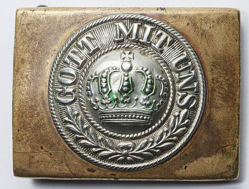 Imperial German Buckles.