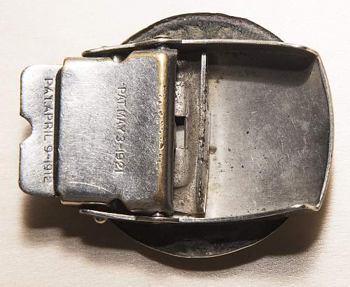Modified Prussian buckle...
