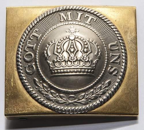 WW1/Prussian Fake Buckles