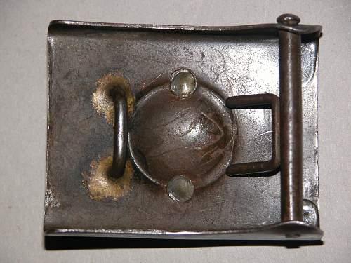 Prussian steel 2 piece