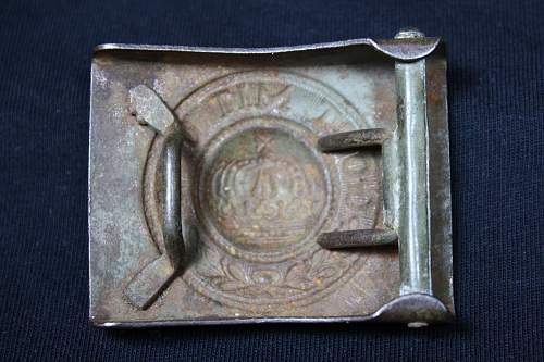 First Imperial buckle