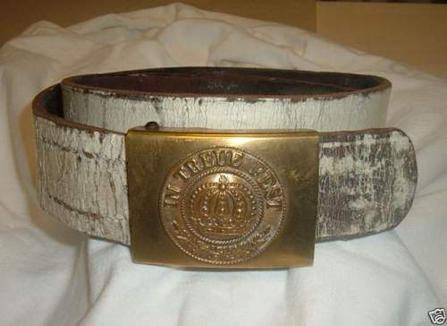 imperial Bavaria belt and buckle  on E-bay ?