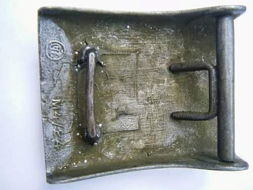 Original Prussian buckle?