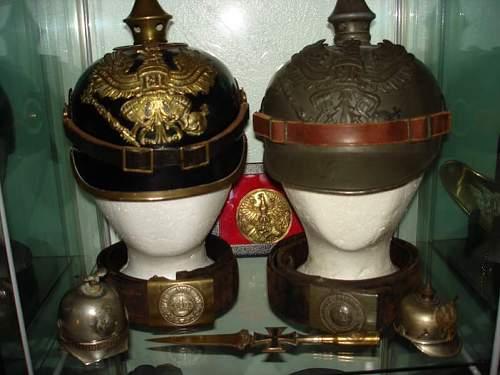 Imperial German Buckles.