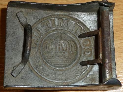 Vintage WWI Steel Buckle?