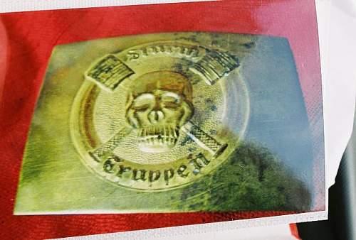WW1 Sturmtruppen belt buckle