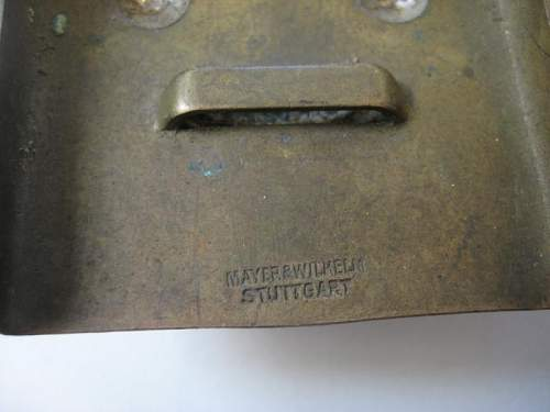 Wurttemburg Buckle - Anyone Seen One Like This Before?