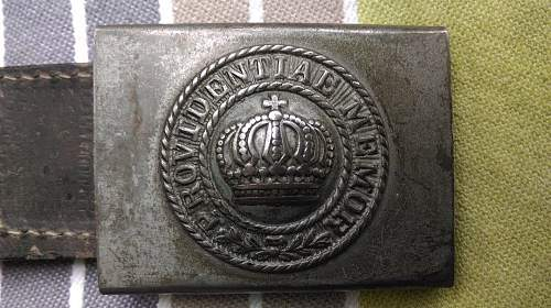Click image for larger version.  Name:100th Regt M15 Buckle 1.jpg Views:59 Size:153.5 KB ID:905260