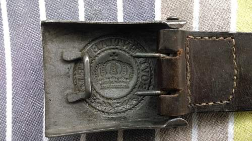 Saxon M-15 Buckle: 3-Levels of Collector Interest with this buckle