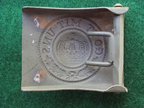Near-Mint Original Unissued Prussian??