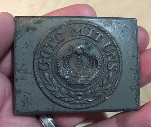 Steel 2 piece Prussian