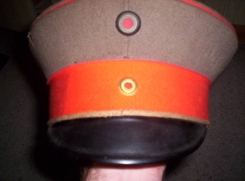 Prussian infantry cap