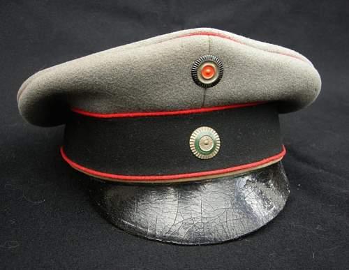 Technical Troops (Feldgrau):  Artillery, Pioneer & Verkehrstruppen Visors