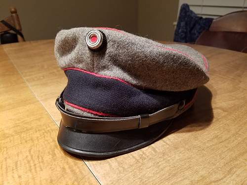 Questions about (fake) visor/crusher.