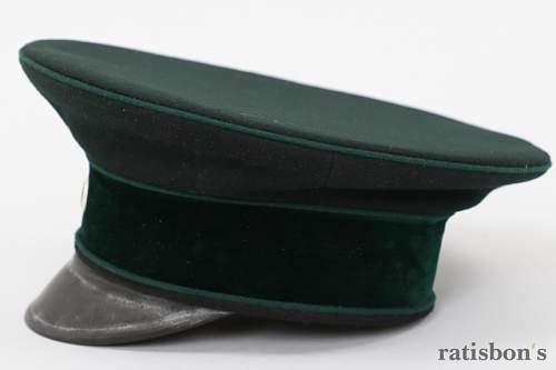 DRB Reichsbahn/Eisenbahn Headgear