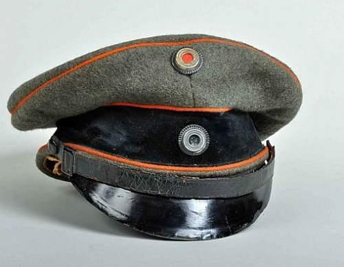 Original German Artillery cap?