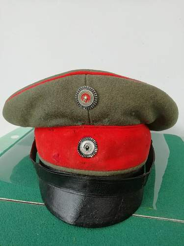 WW! German NCO Cap?