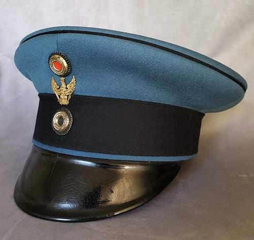 Schwedter Adler Traditions-badged Headgear