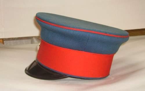 Bavarian officers cap
