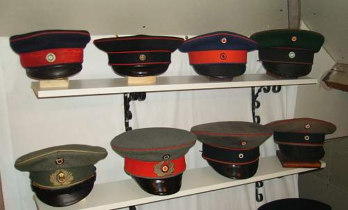 A quick look at NCO caps 1871 to 1920