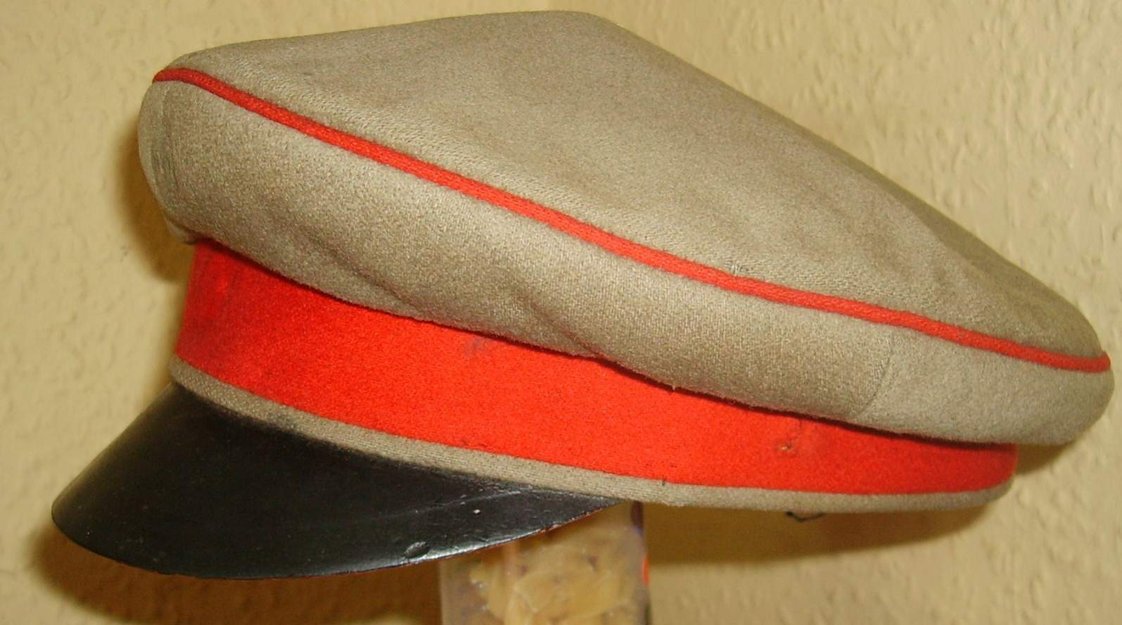 Is This An Example Of The Peaked Other Ranks Cap