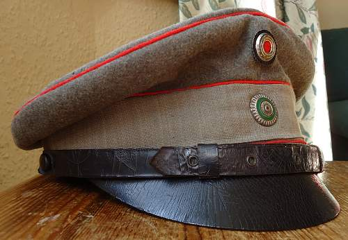 Saxon Medical Officers Field Cap
