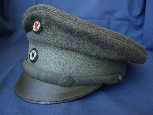 My Only WWI German Cap
