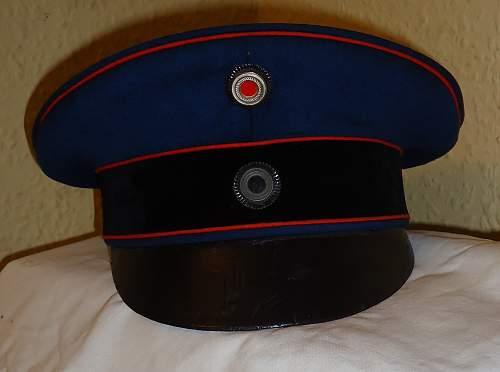 Artillery Officer Field Cap circa 1910