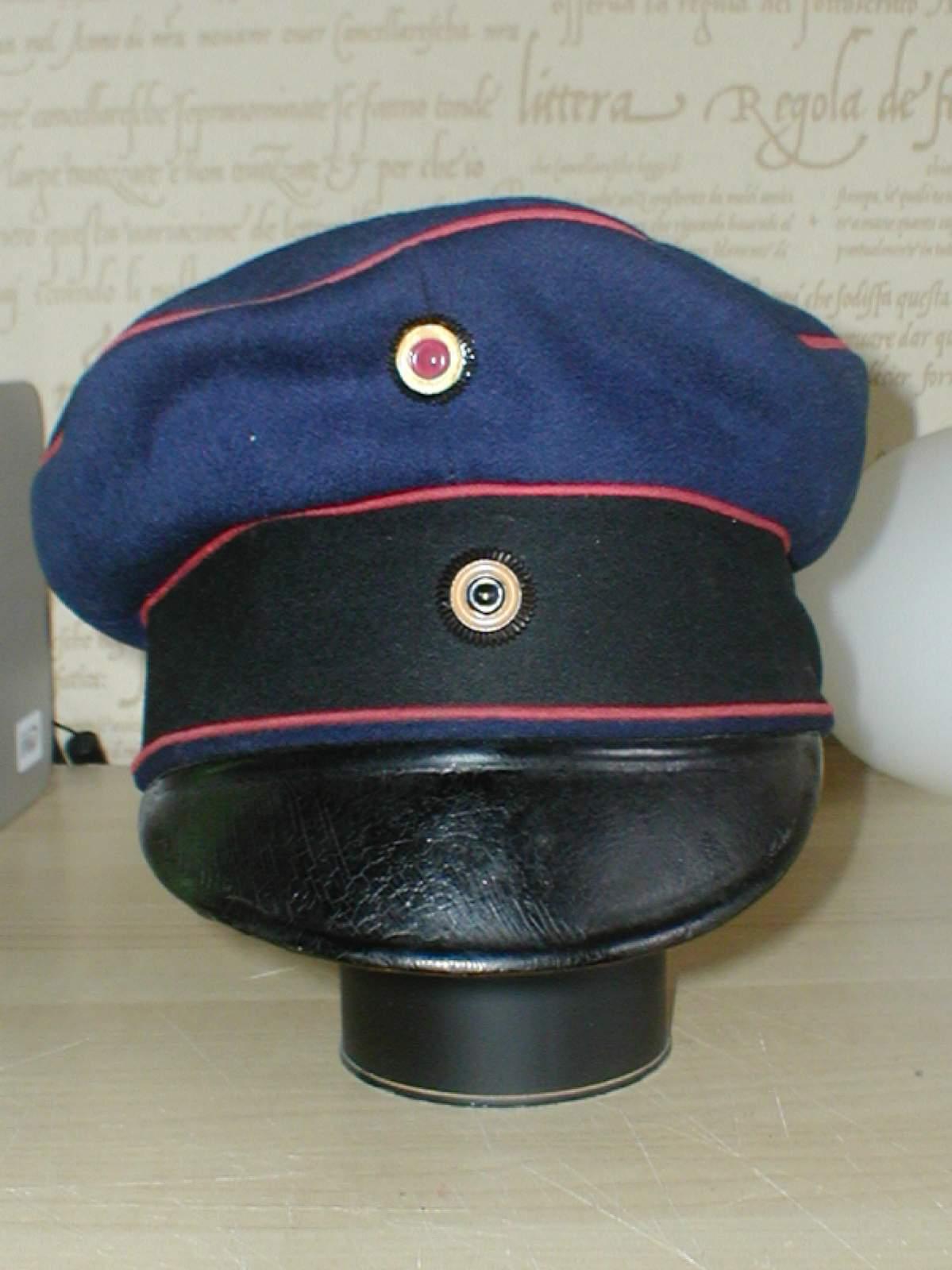 12d82e8a99f Artillery Officer Field Cap circa 1910