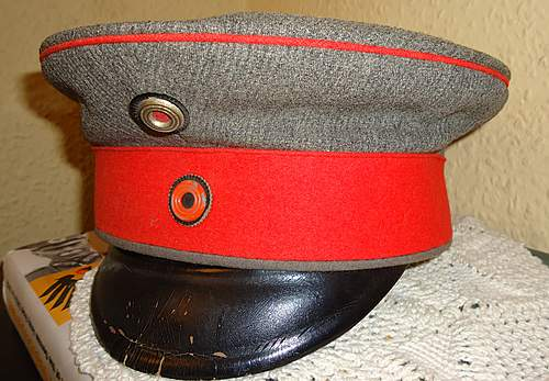Infantry Officers Cap -a late war production