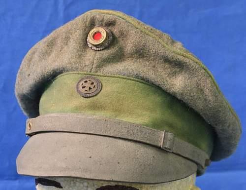 Click image for larger version.  Name:PRUSSIAN OFFICER LANDWEHR CAP.jpg Views:905 Size:34.6 KB ID:416960