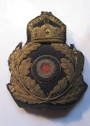 Scarce Kriegsmarine CAP BADGE WW1