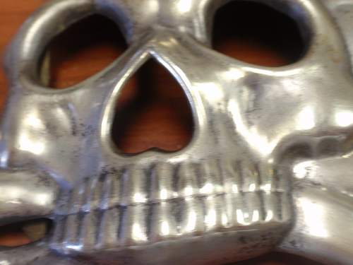 """Imperial German Hussar """"Busby"""" Skull. Any Help Appreciated."""