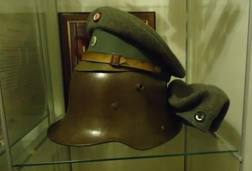 Infantry Visors:  Feldgrau