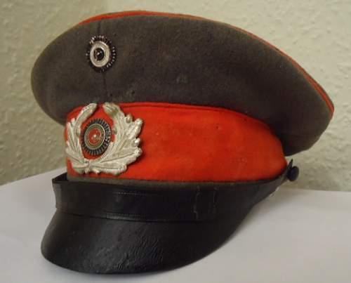 circa 1919/1920 Army Utilised Field Cap