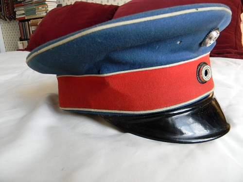 Husaren-Regt.nr. 13 Visor cap