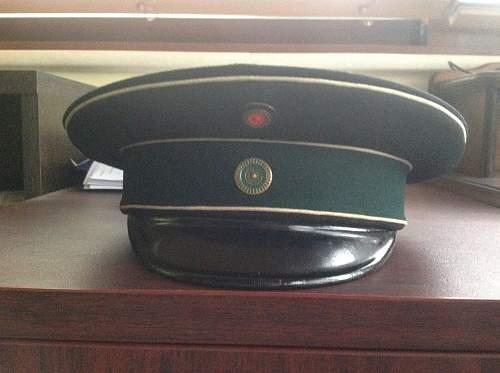 Imperial German Visor