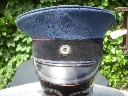 Imperial German Artillery Schirmmutze