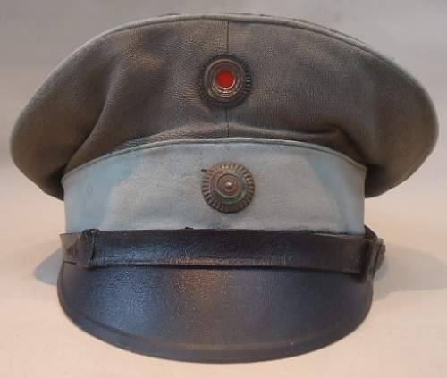 Saxon (Train) Officers Field Cap