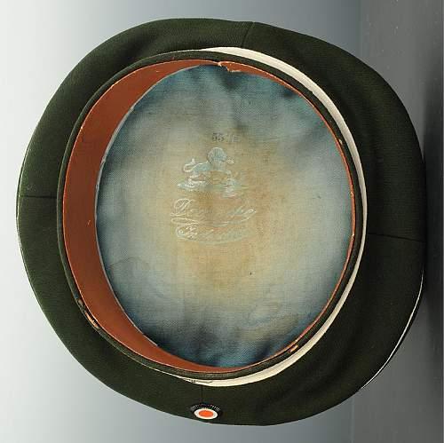 Chevauleger Headgear (Dunkelblau  & Feldgrau)
