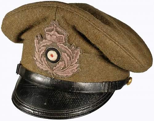 KLM Officer Visor Hats