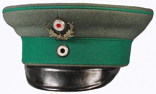 Karpathenkorps & Alpenkorps Visors