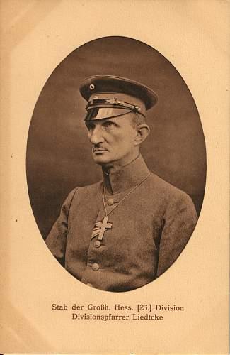 Feldgeistlicher Headgear in Period Photographs