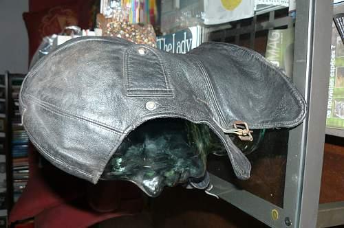 Is this an Imperial German flying helmet?