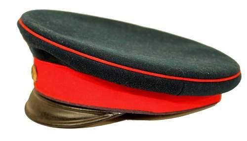 Infanterie Visors:  Dunkelblau